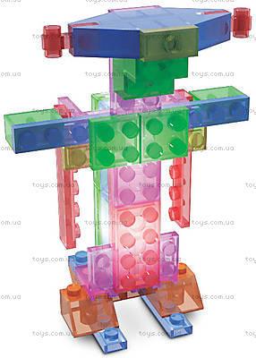Светящийся конструктор 4 в 1 «Робот», 200b, игрушки