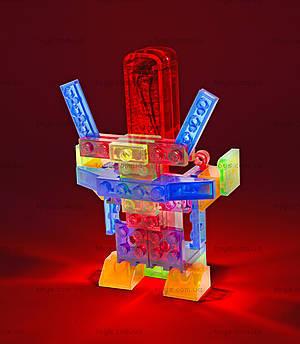 Светящийся конструктор 4 в 1 «Робот», 200b, іграшки
