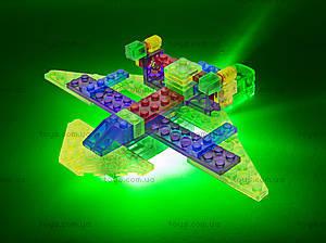 Светодиодный конструктор 4 в 1 «Самолет», 100b, детские игрушки