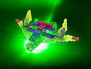 Светодиодный конструктор 4 в 1 «Самолет», 100b, магазин игрушек