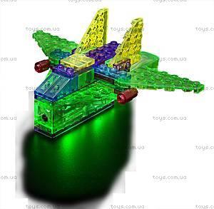 Светодиодный конструктор 4 в 1 «Самолет», 100b, toys.com.ua