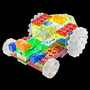 Конструктор со светодиодами 6 в 1 «Драгстер», 130b, игрушки
