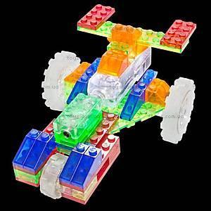 Конструктор со светодиодами 6 в 1 «Драгстер», 130b, детские игрушки