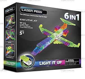 Светящийся конструктор 6 в 1 «Самолёт», 140b