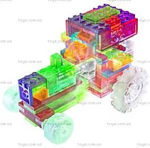 Светящийся конструктор 6 в 1 «Трактор», 120b, фото