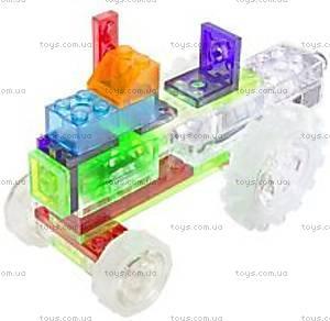 Светящийся конструктор 6 в 1 «Трактор», 120b, отзывы