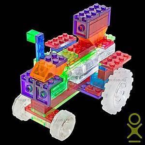 Светящийся конструктор 6 в 1 «Трактор», 120b, toys.com.ua