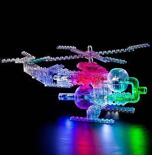 Конструктор со светодиодами 6 в 1 «Вертолет», 1270b, цена