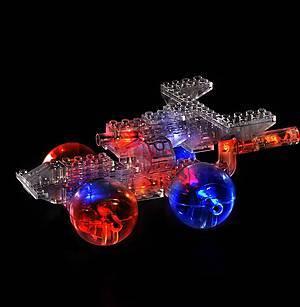 Конструктор со светодиодами 6 в 1 «Вертолет», 1270b, детские игрушки