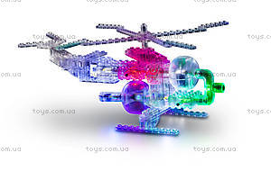 Конструктор со светодиодами 6 в 1 «Вертолет», 1270b, магазин игрушек