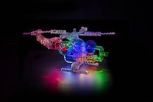Конструктор со светодиодами 6 в 1 «Вертолет», 1270b, toys.com.ua