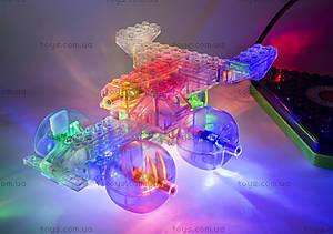 Конструктор со светодиодами 6 в 1 «Вертолет», 1270b, toys