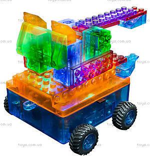 Светодиодный конструктор 8 в 1 «Автомобиль», 1320b, игрушки