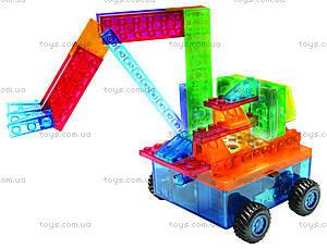 Светодиодный конструктор 8 в 1 «Автомобиль», 1320b, магазин игрушек