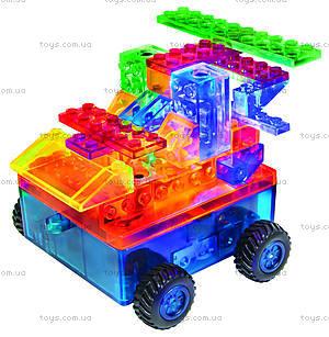 Светодиодный конструктор 8 в 1 «Автомобиль», 1320b, toys