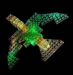 Светодиодный конструктор 8 в 1 «Боевой истребитель», 9005b, купить