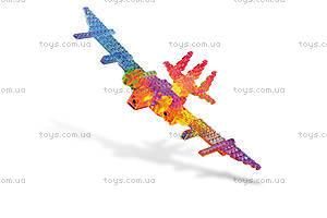 Светодиодный конструктор 8 в 1 «Боевой истребитель», 9005b, toys