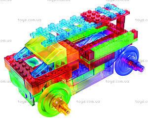 Конструктор со светодиодами 8 в 1 «Бульдозер», 1420b, toys.com.ua