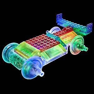 Светодиодный конструктор 8 в 1 «Cпортивный автомобиль», 1410b, игрушки