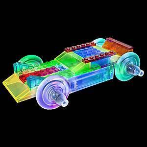 Светодиодный конструктор 8 в 1 «Cпортивный автомобиль», 1410b, магазин игрушек