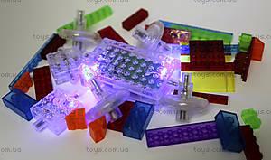 Светодиодный конструктор 8 в 1 «Cпортивный автомобиль», 1410b, toys