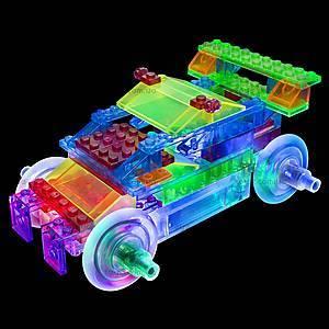 Светодиодный конструктор 8 в 1 «Cпортивный автомобиль», 1410b, іграшки