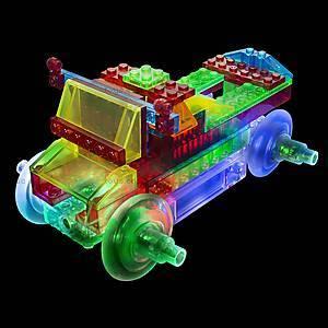 Светодиодный конструктор 8 в 1 «Cпортивный автомобиль», 1410b, детский