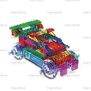 Светодиодный конструктор 8 в 1 «Cпортивный автомобиль», 1410b, Украина