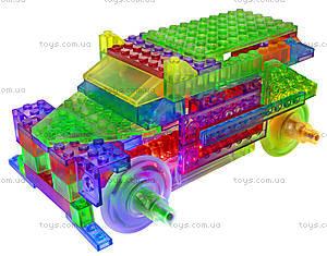 Светодиодный конструктор 8 в 1 «Грузовики», 1430b, игрушки