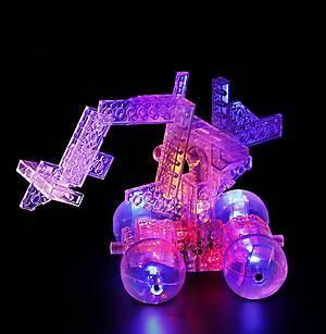Конструктор со светодиодами 8 в 1 «Мини-автомобиль», 9000b, игрушки
