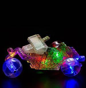 Конструктор со светодиодами 8 в 1 «Мини-автомобиль», 9000b, детские игрушки