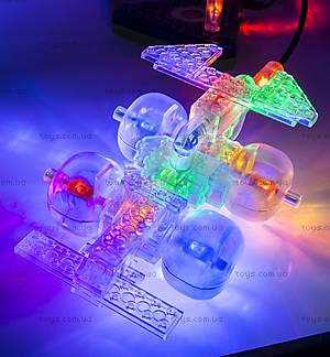 Конструктор со светодиодами 8 в 1 «Мини-автомобиль», 9000b, іграшки