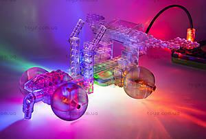 Конструктор со светодиодами 8 в 1 «Мини-автомобиль», 9000b, детский