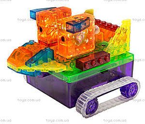Конструктор со светодиодами 8 в 1 «Танк», 1330В, цена