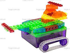 Конструктор со светодиодами 8 в 1 «Танк», 1330В, игрушки