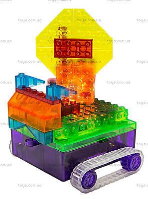 Конструктор со светодиодами 8 в 1 «Танк», 1330В, детские игрушки