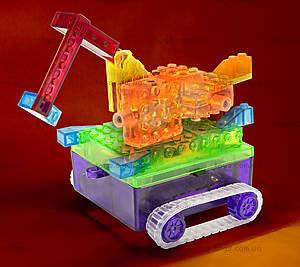 Конструктор со светодиодами 8 в 1 «Танк», 1330В, магазин игрушек