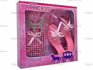 Набор аксессуаров для девочек с туфельками, 7713