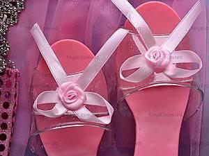 Набор аксессуаров для девочек с туфельками, 7713, купить
