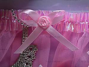 Набор аксессуаров для девочек с туфельками, 7713, фото