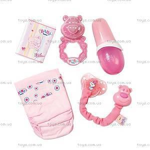 Набор аксессуаров для куклы Baby Born «Нежный уход», 817698