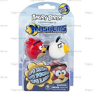 Набор Angry Birds S3 Машемсы «2 птички: красная и белая», 50281-S3NRW