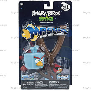 Набор Angry Birds Space S1 «Рогатка с Ледяной птичкой», 50202-S1B