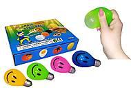 """Набор антистресс игрушек разных цветов """"Лампочка"""", 12 штук, MLLamp7, отзывы"""