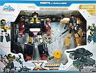 Набор армейских роботов-трансформеров, 3929-1
