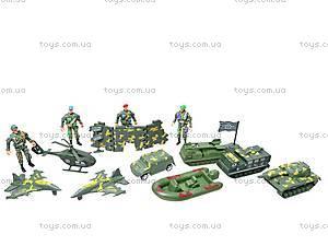 Набор «Армия» с солдатиками, 518-14, цена