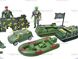 Набор «Армия» с солдатиками, 518-14, детские игрушки