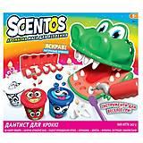 Набор ароматной массы для лепки «ДАНТИСТ ДЛЯ КРОККИ», 45671, детские игрушки