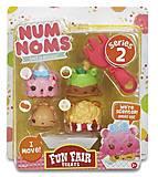 Набор ароматных игрушек NUM NOMS S2 «Праздничное угощение», 544159, отзывы
