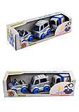 Набор авто «Kid cart» полицейский, Тигрес, 39548, іграшки